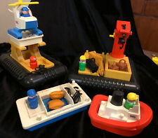 Vintage 1979 Fisher Price Offshore Cargo Base