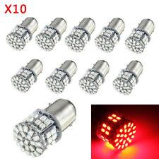 10PCS BAY15D 1157 50SMD LED Tail Stop Brake LED Light Bulbs Globes RED 1206 12V
