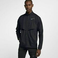 Men's Nike Running Run Division Packable Jacket - Sz Small - Black - 922040-010