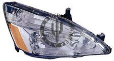 Headlight Assembly Front Right fits 03-07 Honda Accord
