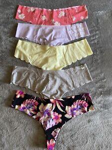 victorias secret pink panties lot
