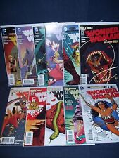 Wonder Woman #0, #2- #11 New 52 Dc Comics Nm with Bag and Board