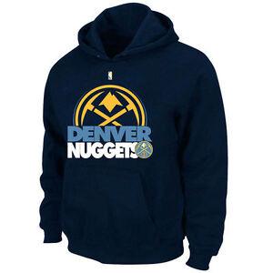 Mens Majestic Denver Nuggets Game Face Hoodie NBA Big Tall Sweatshirt