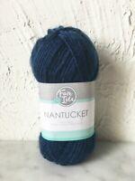 Fair Isle Nantucket Acrylic Superwash Wool Bulky Yarn - 1 Skein Indigo #364