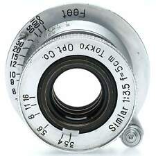 Tokyo Optical 5cm f3.5 Simlar Lens for Leica Screw Mount