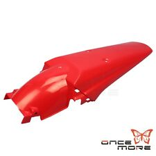 Rear Fenders Universal Dirtbike Mud Guard Fit Honda Yamaha KTM Motorcycle Red