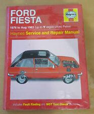 334 Ford Fiesta 1976 to 1983 Petrol Haynes Service and Repair Manual