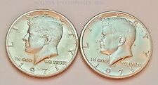 1971 P & D Kennedy Half Dollar Coin Set (2 Coins)  **FREE SHIPPING**