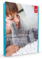 Adobe Photoshop Elements 2020 Vollversion deutsch für Win + Mac - NEU & OVP
