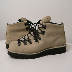 Danner Mountain Light Ivory Suede 31532 Limited Edition Boots Men's Bone 9.5 EE