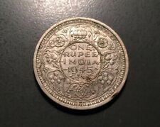 1945 INDIA RUPEE - 0.5000 SILVER - 11.6600 G ~ GEORGE  VI ~ HANDSOME STRIKE!