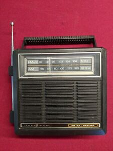 GE General Electric 7 Band Portable Radio 7-2964A Instant Weather Tested
