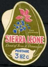 Sierra Leone 1968 SG#442, 3.5c Self Adhesive No Advert MNH #D67087