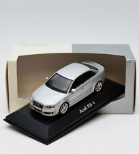 Minichamps 5010509113 Audi RS 4 Limousine Bj.2005 in silber, 1:43 , OVP, 94/17