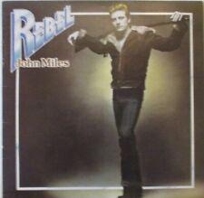 JOHN MILES - Rebel ~ VINYL LP + POSTER