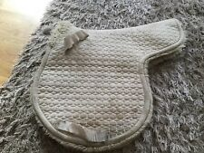 Mattes Silver Wool Lined Cob Size GP Numnah
