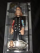 """New Rare 2006 Fall Out Boy 7"""" Andy Hurley Band Figure Doll Exclusive & Card FOB"""