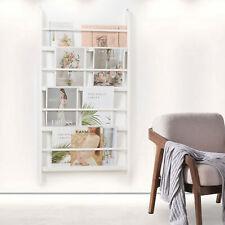 Wall Mounted Children Bookcase Kids Display Bookshelf Storage Unit Shelving uk