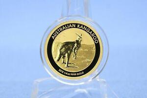 Australien 15 $ 2013 Australian Kangaroo * 1/10 oz - 3,11 Gramm 9999 Gold * St