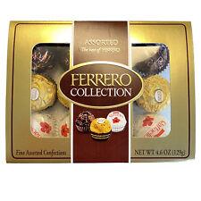 Ferrero Collection Assorted Chocolate 4.6 Oz 12 Pieces Rocher Rondnoir Raffaello