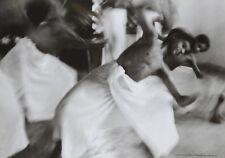 Werner Bischof Photo Print 30x21cm Kathakali Dance School Indien India 1952 Inde