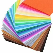 Nanchuang 1mm Thickness Non Woven Felt 20x20cm 40Pcs/Pack Material Dolls&Crafts