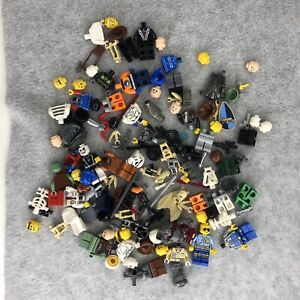 Lego Minifigure Parts Pieces Star Wars Rock Monster City Skeleton Owl Snake A6-1