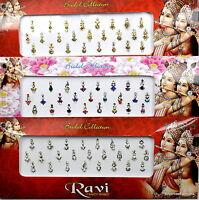 1 PACK of MULTI **Long Multi Pack** Indian BRIDAL Gem TIKKA Festival BINDI