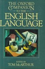 The Oxford Companion to the English Language (Oxford Companion to English Litera