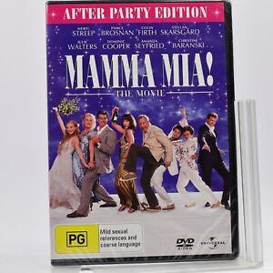 Mamma Mia Meryl Streep DVD R4 GC New Sealed