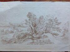 E. MUSEO DNI RICARDI HOULDITCH Grimaldi G. Francesco aguafuerte XVIII paisaje