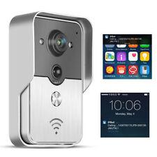 Wireless WiFi Doorbell Video Camera Smart Door Phone Ring Intercom Home Security