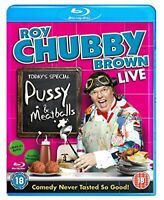 Roy Chubby Brown Live Pussy and Meatballs [Bluray] [DVD]
