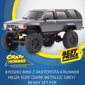 KYOSHO Mini-Z 4X4 Toyota 4 Runner HiLux Surf (Dark Metallic Grey) Ready Set RTR