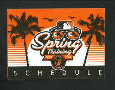 Baltimore Orioles--2013 Spring Training Pocket Schedule
