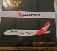 Qantas Airbus A380 VH-OQF Gemini Jets G2QFA748 Scale 1:200