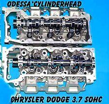 2 JEEP LIBERTY DODGE DURANGO DAKOTA 3.7 SOHC V6 CYLINDER HEADS REBUILT