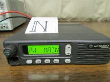 N Motorola Mcs 2000 Mobile Radio 800mhz Uhf 250 Channels M01hx812w As Is