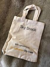 Lufthansa Sky Snack beutel City Class Baumwolltasche Stofftasche 10x Beutel