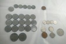 COLLECTION OF OLD DUTCH COINS HOLLAND NETHERLANDS 1c, 2c, 5c, 10c, 25c 1g