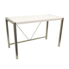 Escritorios y mesas de PC color principal blanco para el hogar