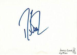 Davis Love III signed autographed album page! AMCo! 5499