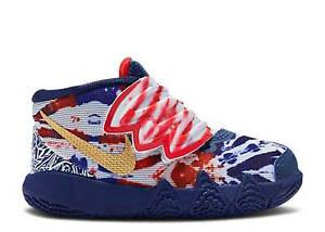 """NIKE KYRIE KYBRID S2 """"WHAT THE USA"""" INFANT SIZE 7.0 C TO 9.0 C PATRIOTIC TYE-DYE"""