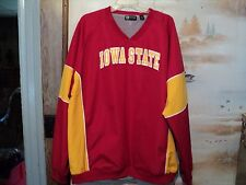 NCAA Iowa State Cyclone red pull over jacket mes lining by Gear Size XL