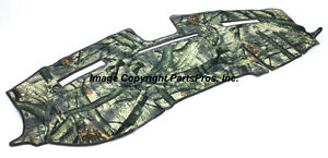 NEW Mossy Oak Treestand Camo Camouflage Dash Mat Cover / FOR 2010-13 DODGE RAM