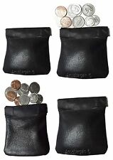 Change Purse, Leather Ladies Wallet purse mini pocket zip coin case key ring NW