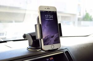 360° Car Windshield Dash Cell Phone Mount Holder for Apple iPhone 6s 7 X XS Plus