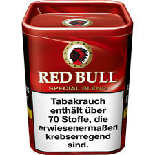 8 x 120g Red Bull Special Blend Tabak Dose
