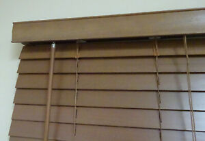 New 50mm basswood timber blinds;Colour: walnut , Sell-out special 30%off