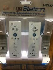 Nyko Charge Station Dock White Nintendo Wii Remote 87000-A50 New Sealed!
